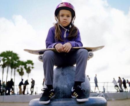 Amazing skater Harper and his skateboard – taking a break ...