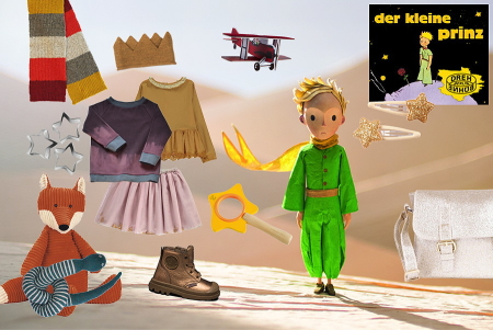 Der kleine Prinz in der Wüste – Collage by Torsten Gatterdam © kaltes klares wasser; Background Image © Warner Bros.