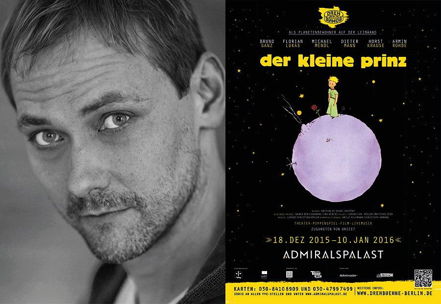 """Regisseur Lorenz Christian Köhler bringt """"den kleinen Prinzen"""" auf die Bühne – Portrait © Jan Pauls"""