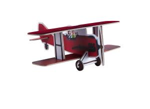 Papp-Flugzeug zum Zusammenbauen von Hape über amazon