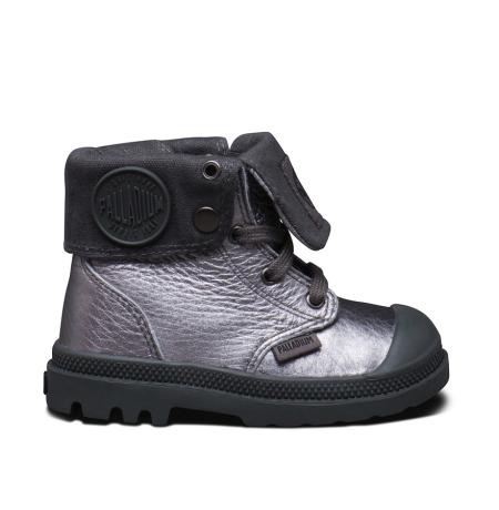 Metallic-Leder Boots von Palladium