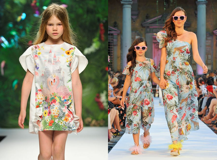 Neuschwanstein-Romantik bei She.Ver, Mini-Me Looks bei Monnalisa – Image left © Giovanni Giannoni, right © Studio Nonamephoto