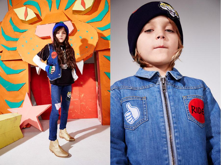 RIDE! Vorbild für diese Jeans-Outfits war wohl der amerikanische Draufgänger und Motorrad-Stuntman Evel Knievel
