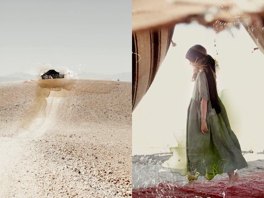 Ganz und gar ungezwungen: der typische Bohème-Look von Cristina Fernandez lebt von den luftigen Schnitten