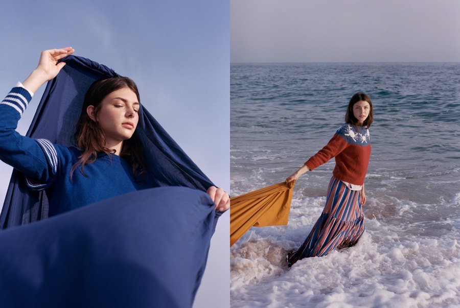 Eine Hommage an die Schönheit des Ozeans: auch die Damenlinie überzeugt durch einen modernen maritimen Look