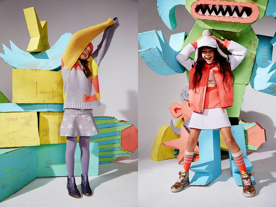 Stella McCartney Kids steht für trendbewusste Mode, die tragbar ist und vor allem Spaß machen soll!