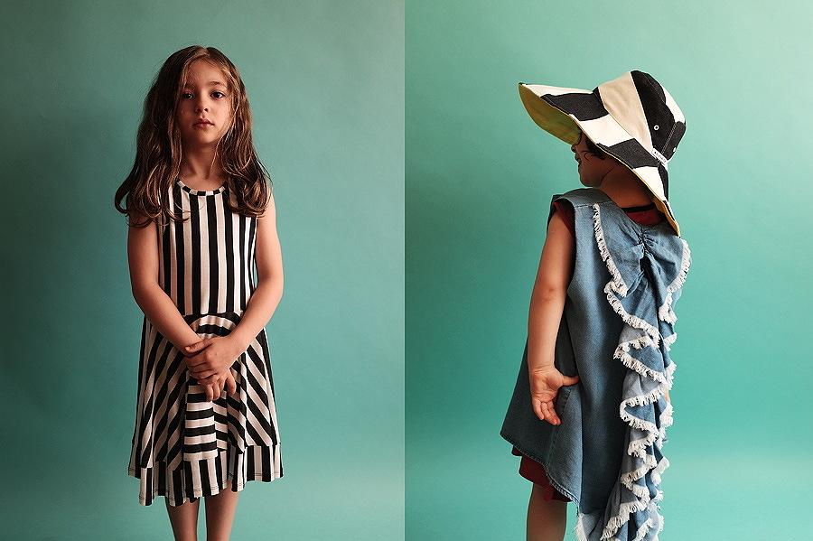 Wie Polly Maggoo – das Kleid MARTA und die Bluse GABRIELA im Stil der Swinging Sixties