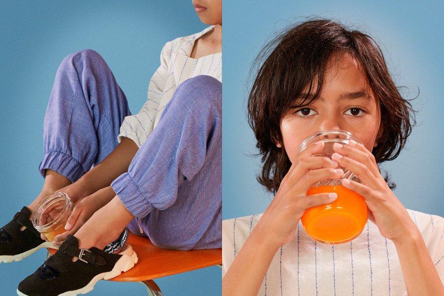 Clogs oder Sneaker? Auch die Jungs können diesen Sommer dem Slingback-Trend frönen. © Carmen Ordoñez