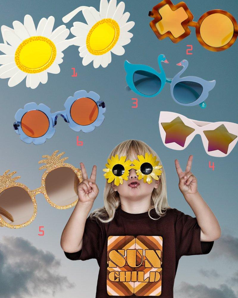 Sonnenkind Harvey von @cool_dudes_nz hat ein Faible für extravagante Sonnenbrillen