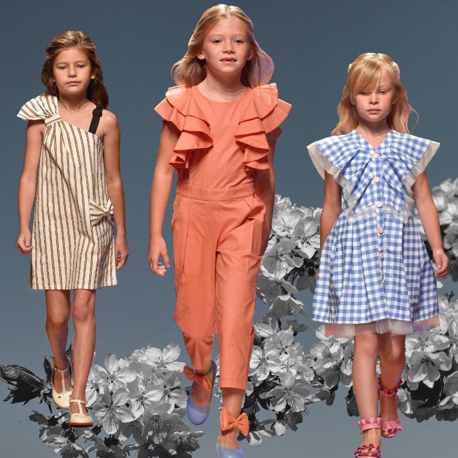 Moque entwirft moderne und einzigartige Mode für angehende Prinzessinnen. Runway Images © Giovanni Giannoni