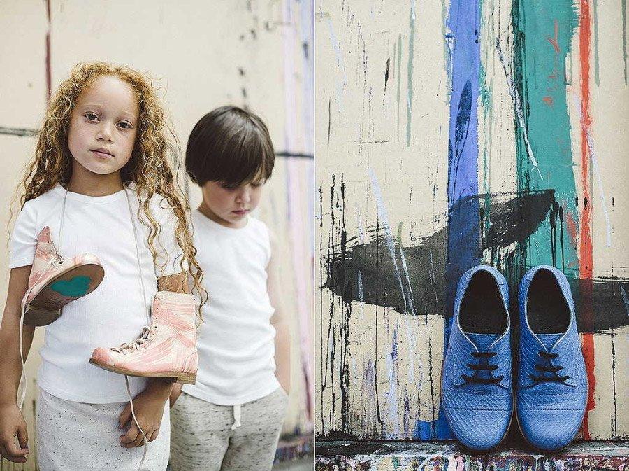 """Monkey Boots in Rosa und der Chapter 2 Klassiker """"Achilles"""" in Blau: eine echte Augenweide"""