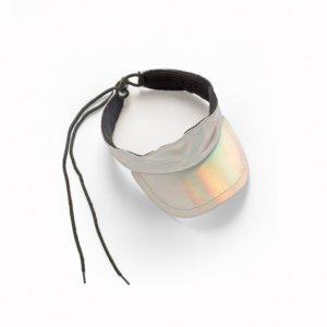 Metallic Visor Cap von Andorine über Farfetch