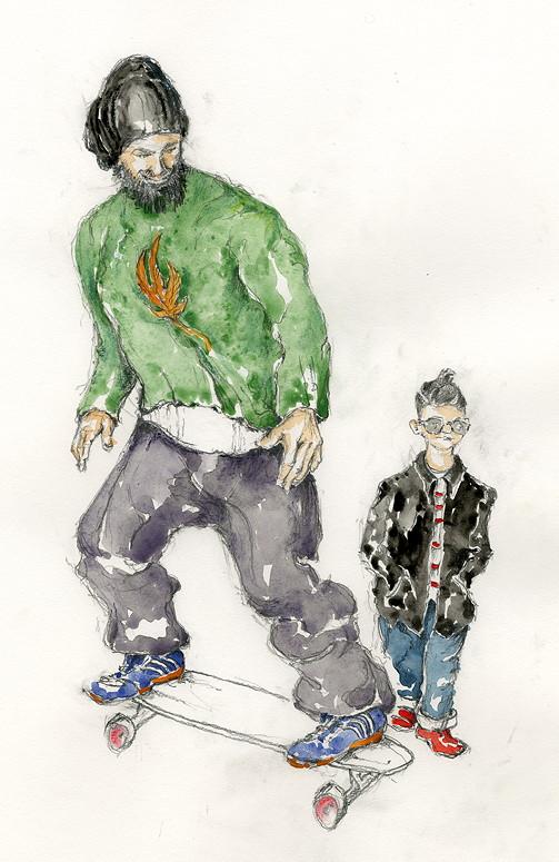 """Hipster: """"Ich möchte nicht erwachsen werden!"""" © Klaus-Jürgen Ulbricht"""