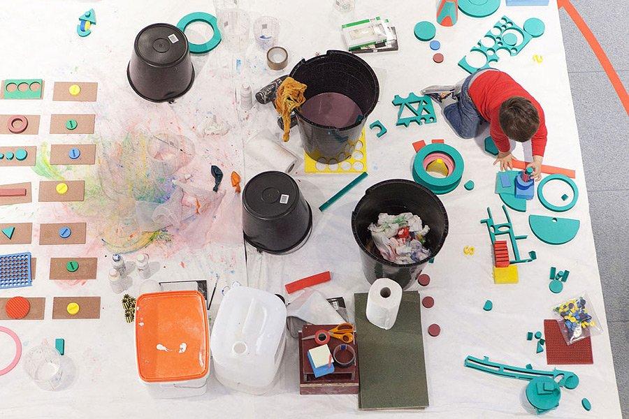 Kids Design Week: Aus dem Chaos kommen ja bekanntlich die besten Einfälle!