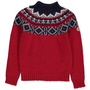 MONCLER KIDS Jacquard Pullover via Farfetch