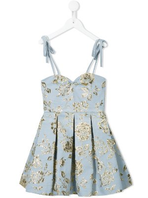 LITTLE BAMBAH Seidenkleid via Farfetch