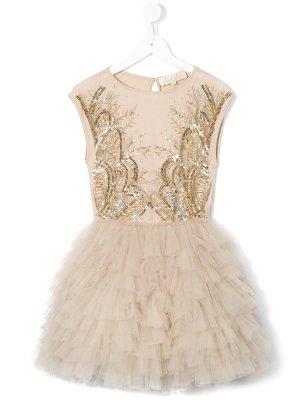 TUTU DU MONDE Besticktes Kleid via Farfetch