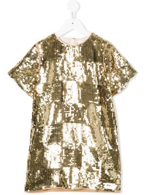 CHLOÉ KIDS Paillettenkleid via Farfetch